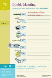 homograph worksheets worksheets
