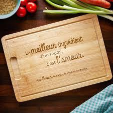 planche de cuisine planche à découper avec gravure maman cuisine avec amour