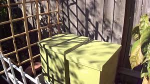 Backyard Beehive Backyard Beehive Youtube