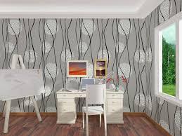 Home Decor Plants Living Room by Italian Style Wallpaper Home Decor Modern Plants Papel De Parede