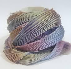 shibori ribbon 1 2 yd shibori ribbon dyed shibori silk ribbon lavender