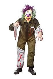 amazon com morbid enterprises killer clown costume multi color