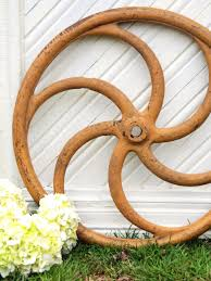 give your outdoor spaces character with flea market finds hgtv