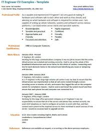 Embedded Engineer Resume Sample by Cv Template Software Engineering 6 Secrets To Writing A Great