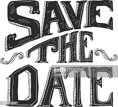 word design save the date lettering word design vector getty images