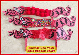 easy kid u0027s craft chinese new year dragon