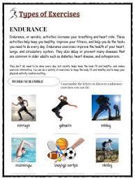 physical fitness facts u0026 worksheets u0026 information for kids