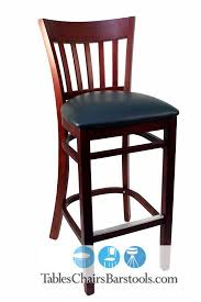 Bar Stool Chairs With Backs Commercial Wooden Bar Stools Bar U0026 Restaurant Furniture Tables
