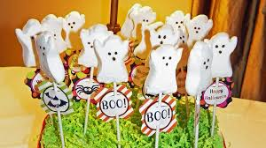 Halloween Themed Cake Pops by Halloween Spooktacular Bash That Party