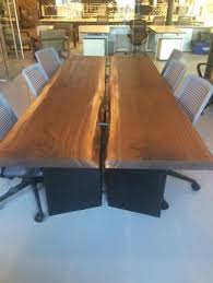 Live Edge Conference Table Custom Live Edge Conference Table By Greg Pilotti Furniture Maker