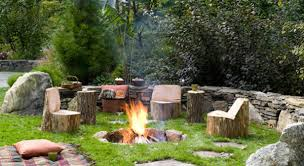 Outdoor Natural Gas Fire Pits Hgtv Rustic Fire Pit Rustic Style Fire Pits Hgtv Rustic Hardscape