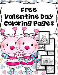 classroom freebies valentine coloring pages