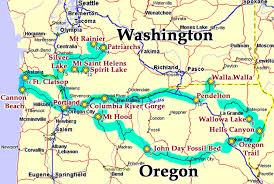 oregon and washington areas