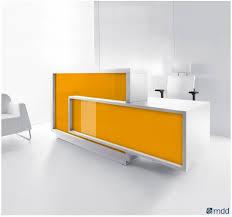 comptoir de bureau comptoir d accueil foro orange