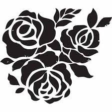 25 best rose stencil ideas on pinterest stencils rose design