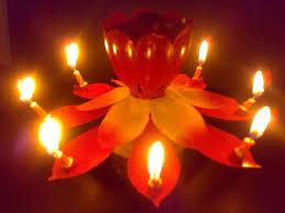 amazing happy birthday candle online shop amazing musical lotus rotating happy birthday