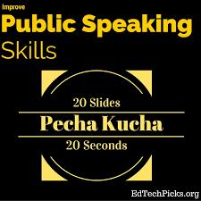 pecha kucha presentation teach public speaking skills