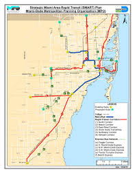 Metrorail Map Dade Now Drafting Legislation To Fund Rail Expansion With Property Tax