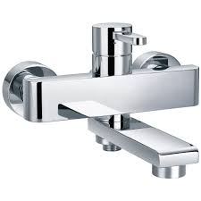 essence wall mounted manual bath shower mixer tap