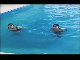 inside swimming pool alia and katrina looks hot inside swimming pool youtube