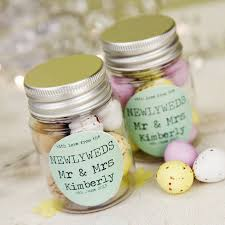 personalized wedding favors personalised wedding favour sticker jar favour jars