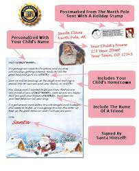 personalized letter from santa santa letters personalized santa letters