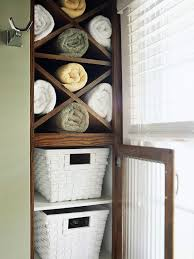 Decorate Bathroom Towels Diy Bathroom Towel Storage In Under 5 Minutes Making Lemonade