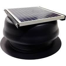 Roof Turbines Home Depot by Cardinal Ventilation Solar Attic Fan Attic Fans U0026 Vents The