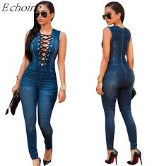 Jeans Jumpsuit For Womens Online Buy Wholesale Jeans Jumpsuits For Women From China Jeans