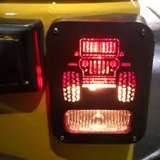 jeep wrangler brake light cover tail light guards ebay