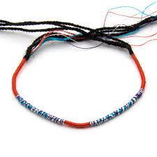 black thread bracelet images Cinco japon rakuten global market ankle bracelets 85 mail jpg