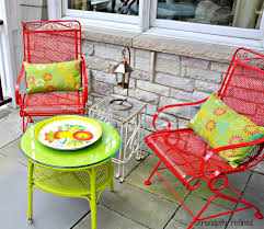 Better Homes And Gardens Wrought Iron Patio Furniture Best 25 Metal Patio Furniture Ideas On Pinterest Refinished