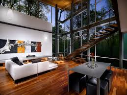 Interior Modern Homes Strickland Ferris Residence Frank Harmon Architect Archdaily