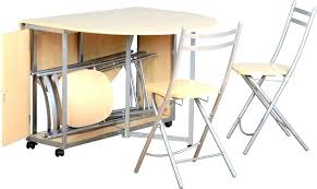 Folding Table With Chairs Stored Inside Table With Chair Storage Wiredmonk Me