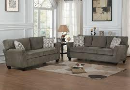 Grey Sofa And Loveseat Sets Homelegance Alain Grey Sofa U0026 Loveseat Set 8225 Savvy Discount