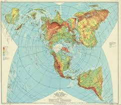 Flat Map Of World by U S Air Force Map Of The World 1961 2558 X 2214 Mapporn