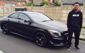 mercedes in manchester manchester city fc player smith brown chooses the