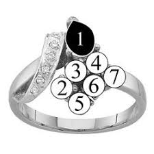 rings for mothers l 2 to 7 genuine stones s ring