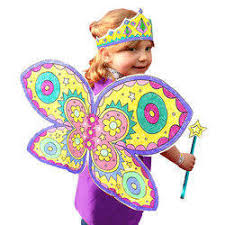 colored butterfly child fancy dress at rs 500 piece fancy