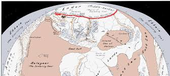 Lotr Map Iron Mountains The One Wiki To Rule Them All Fandom Powered By