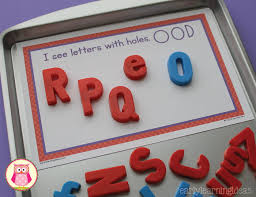 sorting magnetic letters with sorting mats free printable