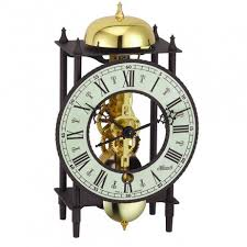 black wrought iron table clock hermle wrought iron skeleton table clock black black 23001000711