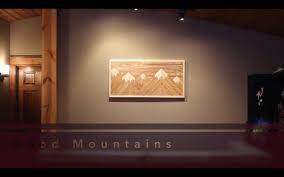 wood mountain wall wood mountain wall decor 7 steps with pictures