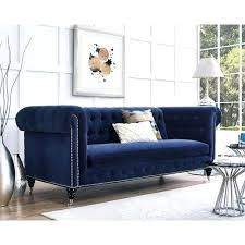 deep blue velvet sofa blue velvet tufted sofa dark blue velvet chesterfield tufted sofa