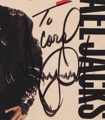 Michael Jackson Bad Album Online Sports Memorabilia Auction Pristine Auction