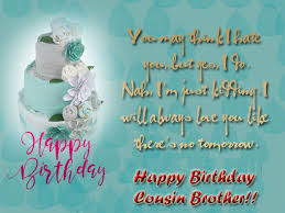 Happy Birthday Wishes For A Cousin Birthday Wishes For Cousin Brother Quotes And Messages Wishes Lines