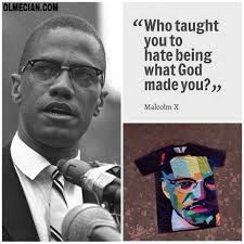 Malcolm X Memes - dopl3r com memes olmecian com who taught you to hate being what