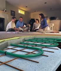 how to install radiant floor heat ambient floor heat