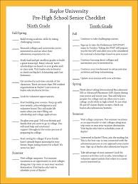 high school senior mailing list pre high school senior checklist advanced placement sat