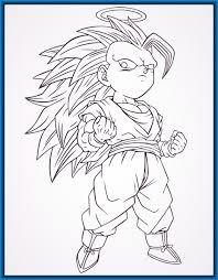imagenes de goku para dibujar faciles con color imagen relacionada para hacer pinterest dragon ball cosas